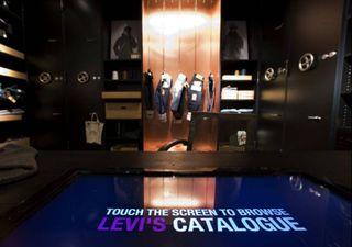 Levi's Berlin Interactive terminal 2