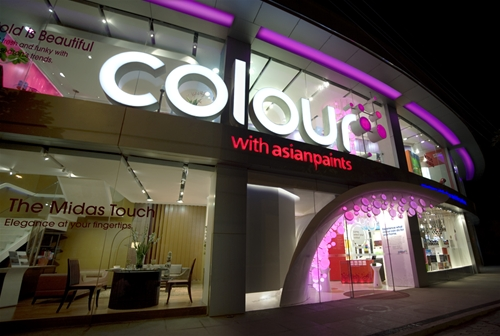 Asian Paints store of the year 2008