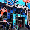DISNEY flagship store @ TIMES SQUARE - New York