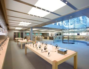 Apple largest store NYC