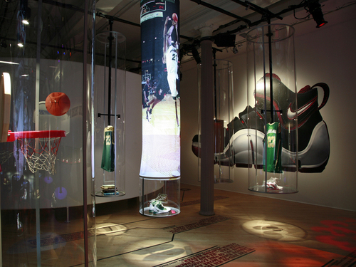 Nike Pop Up store SoHo NYC